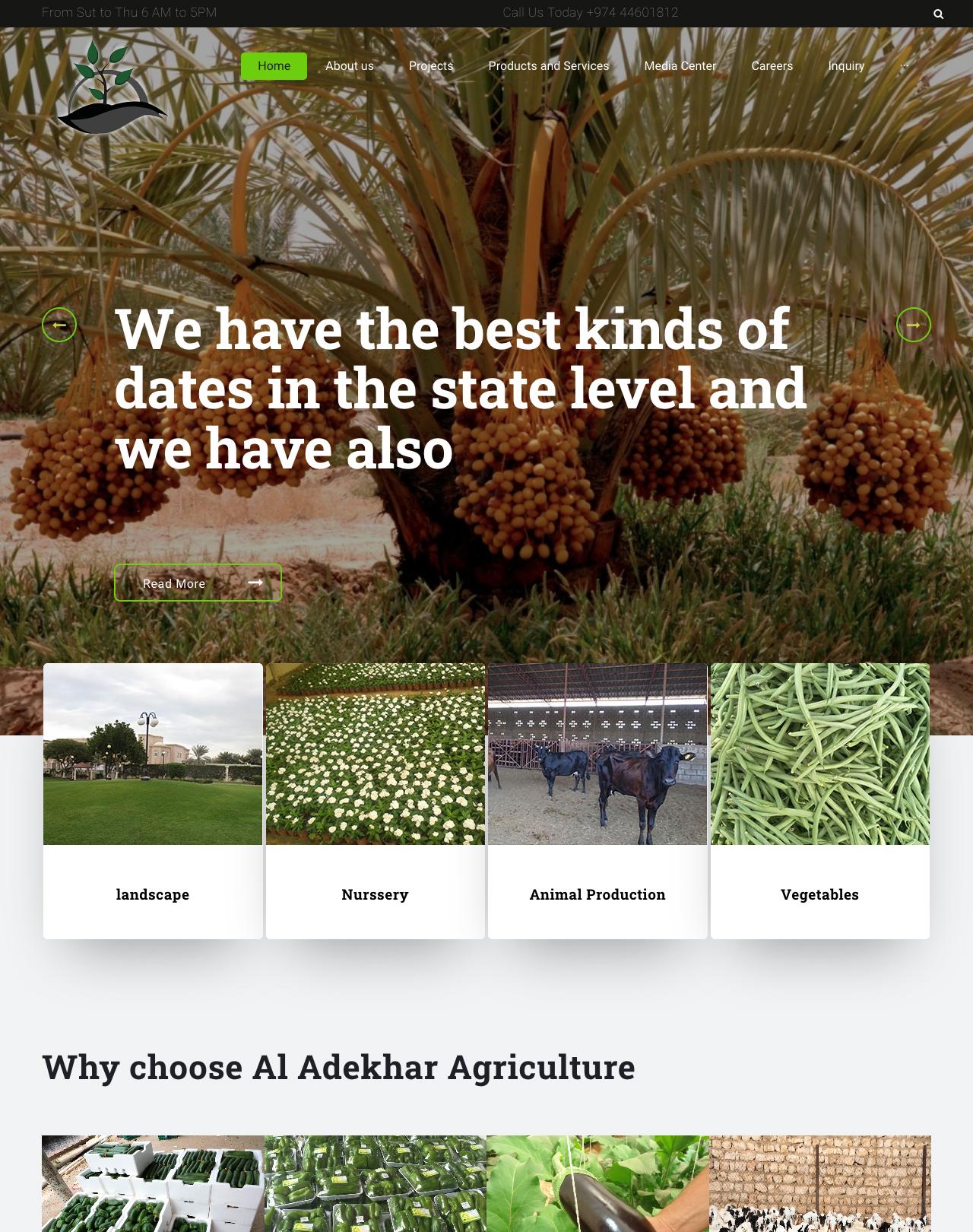 Qatar Agriculture